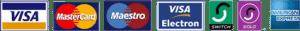 Credit Card Logo's